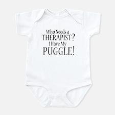 THERAPIST Puggle Infant Bodysuit