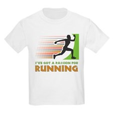 Passion for Running Kids T-Shirt