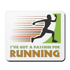 Passion for Running Mousepad