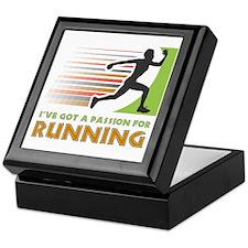 Passion for Running Keepsake Box