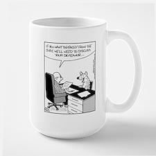Lawyer/Hyena Large Mug