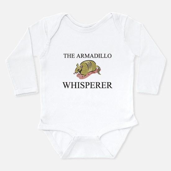 Funny Armadillo Long Sleeve Infant Bodysuit