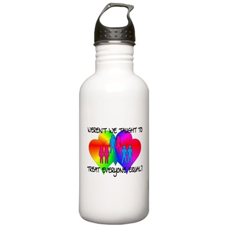 Treating Equal Stainless Water Bottle 1.0L