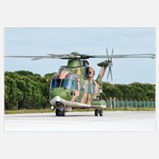 An Agusta Westland EH101 of the Portuguese Air For