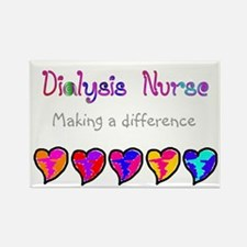 Dialysis Nurse 2011 Hearts Magnets