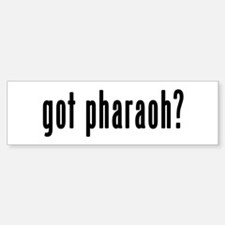 GOT PHARAOH Sticker (Bumper)