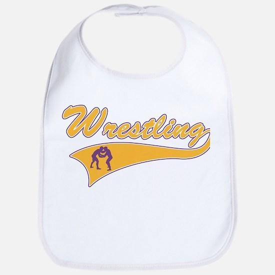 Wrestling 3 Bib