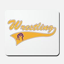 Wrestling 3 Mousepad