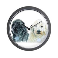 Two Doodles Wall Clock