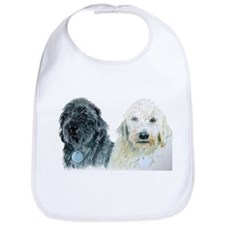 Two Doodles Bib