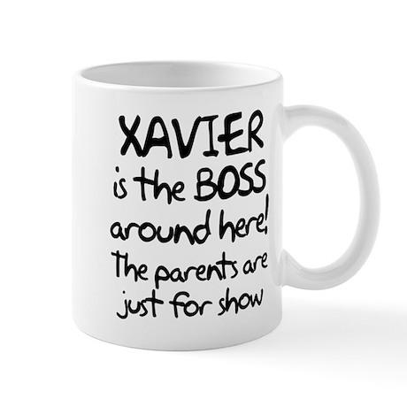 Xavier is the Boss Mug