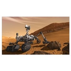 Mars Science Laboratory Wall Art Poster