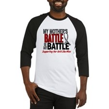 My Battle Too Brain Cancer Baseball Jersey