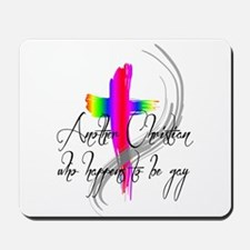 Gay Christian Mousepad