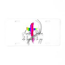 Gay Christian Aluminum License Plate