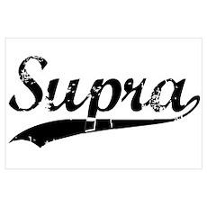 SUPRA Wall Art Poster