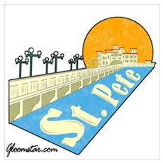 St. Pete Local Wall Art Poster