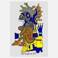 The Mayan Underworld Wall Art