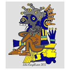 The Mayan Underworld Wall Art Poster