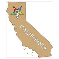 California OES Wall Art Poster