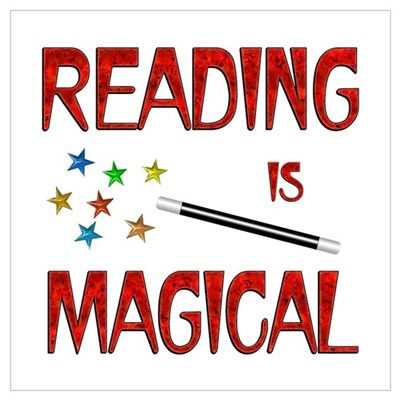 Reading is Magical Wall Art Poster