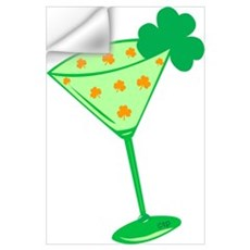 Shamrocktini Wall Art Wall Decal