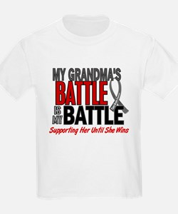 My Battle Too Brain Cancer T-Shirt
