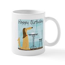 Birthday Cafe Dog Mug