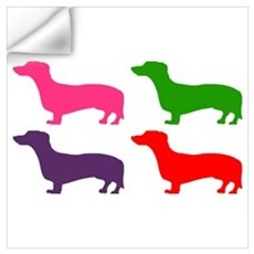 Pop Doxie II Wall Art Wall Decal