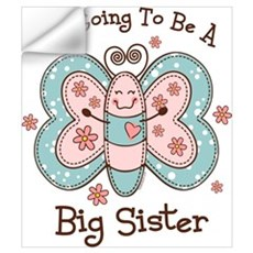 Butterfly Future Big Sis Wall Art Wall Decal