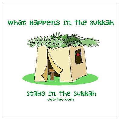 Sukkah Happenings Wall Art Poster