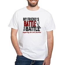 My Battle Too Brain Cancer Shirt