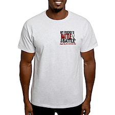 My Battle Too Brain Cancer T-Shirt