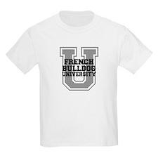 French Bulldog UNIVERSITY T-Shirt