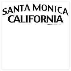 Santa Monica Wall Art Poster