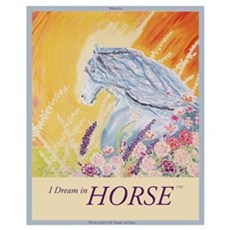 """I Dream in Horse"" Wall Art Canvas Art"