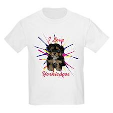 iloveyorkiepoos T-Shirt