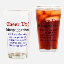 Cute Masturbation Drinking Glass