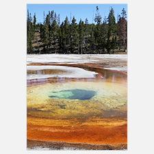 Chromatic Pool Hot Spring, Yellowstone National Pa