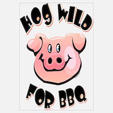 Hog Wild For BBQ Wall Art