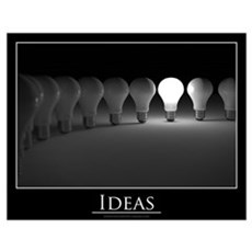 Ideas concept Wall Art Poster