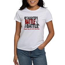 My Battle Too Brain Cancer Tee