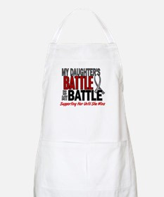 My Battle Too Brain Cancer Apron