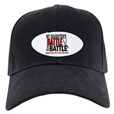 My Battle Too Brain Cancer Baseball Hat