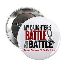 "My Battle Too Brain Cancer 2.25"" Button"