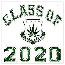 2020 School Of Hard Knocks Wall Art Poster