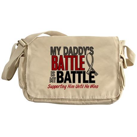 My Battle Too Brain Cancer Messenger Bag