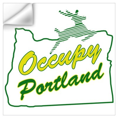 Occupy Portland Wall Art Wall Decal