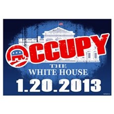 Occupy the Whitehouse Wall Art Poster