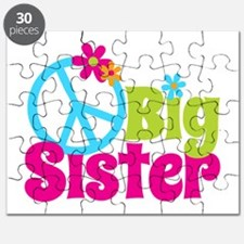 Peace Sign Big Sister Puzzle